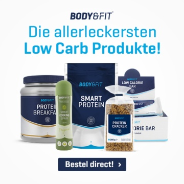 Body&Fit leckere Low-Carb-Produkte