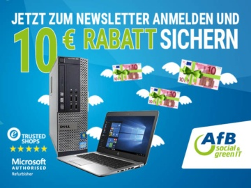 AfB Laptops Computer Newsletter